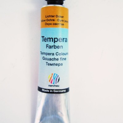 Nerchau tempera okker 19 ml