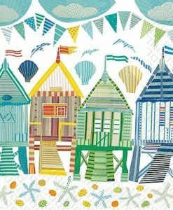Beach Huts Sea Life