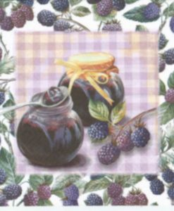 Dekorszalvéta Jam of Blackberries