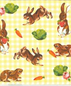 Little bunnies yellow