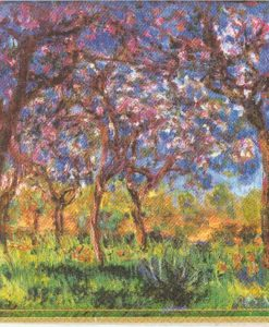 Monet printemps a giverny