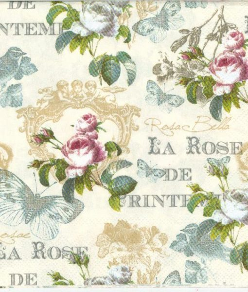 Rose de printemps cream