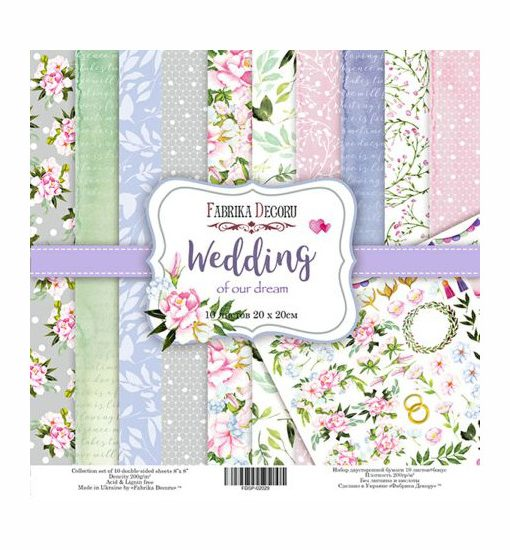 scrapbookpapir-wedding