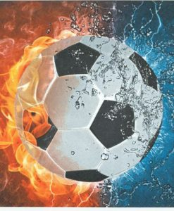 dekorszalvetaFootball on Fire Water
